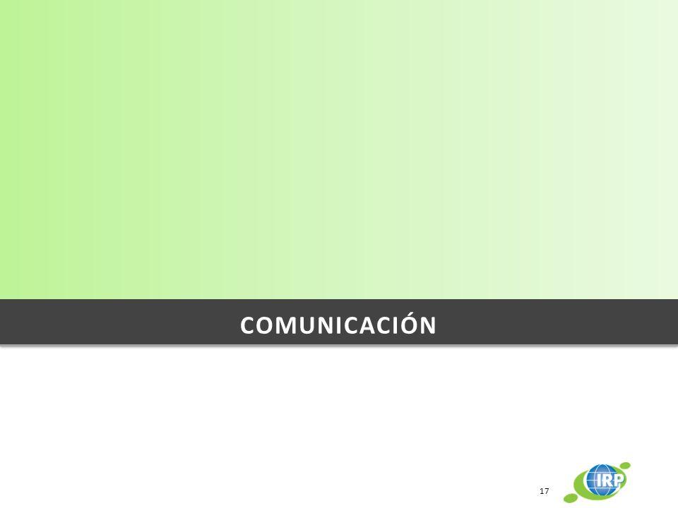 COMUNICACIÓN 17