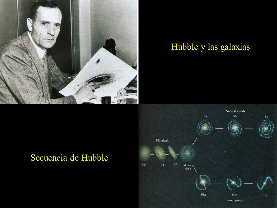 Hubble y las galaxias Secuencia Secuencia de Hubble