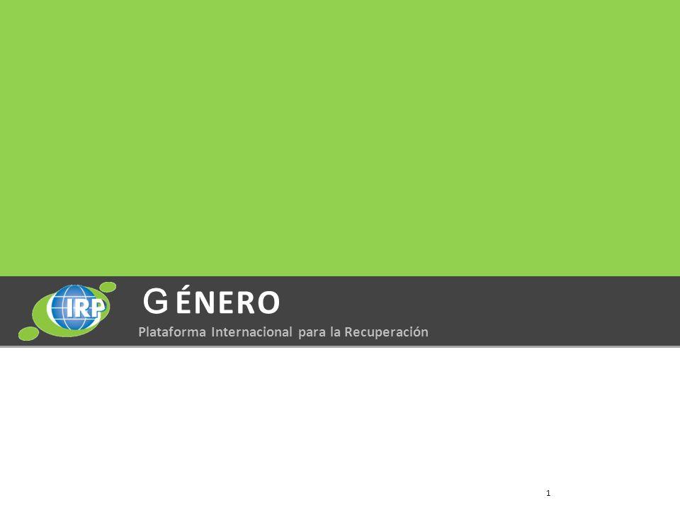 ÉNERO Plataforma Internacional para la Recuperación 1