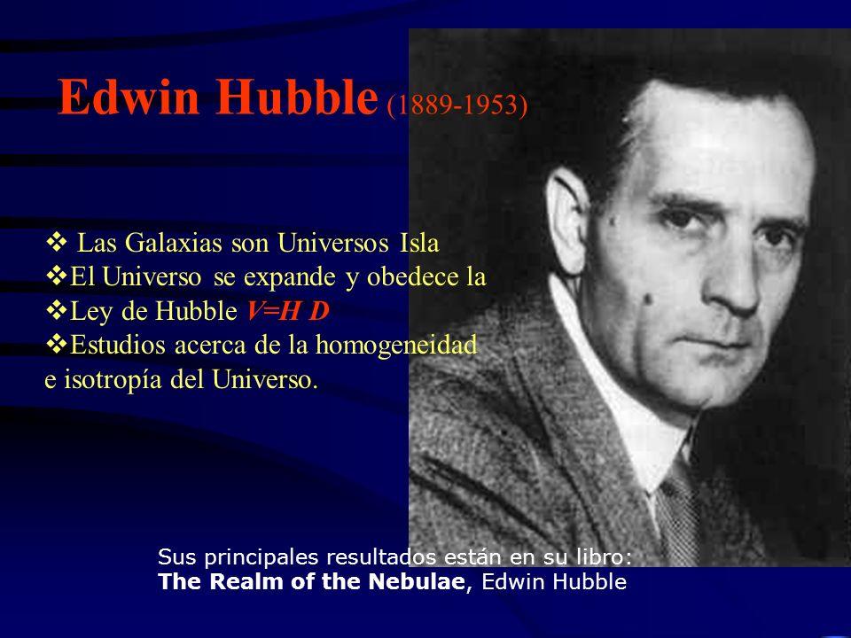 Vesto Melvin Slipher (1875-1969) Fue el primero en medir la velocidad de las galaxias (la primera fue M31 en 1912) Tomando espectros de hasta 80 horas