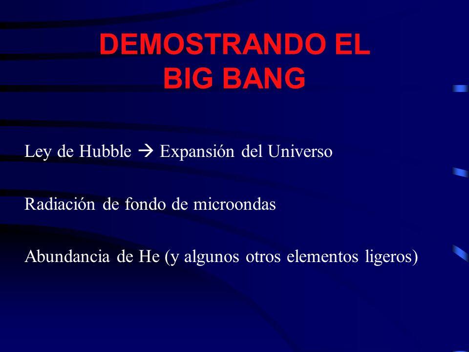 EL UNIVERSO EN UN AÑO 1 Enero 0h00: Big Bang 1 En.