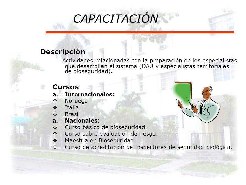 OTORGAMIENTO DE AUTORIZACIONES Descripción Proceso que se realiza sobre la base de la evaluación del riesgo y la posibilidad de la aplicación de medid