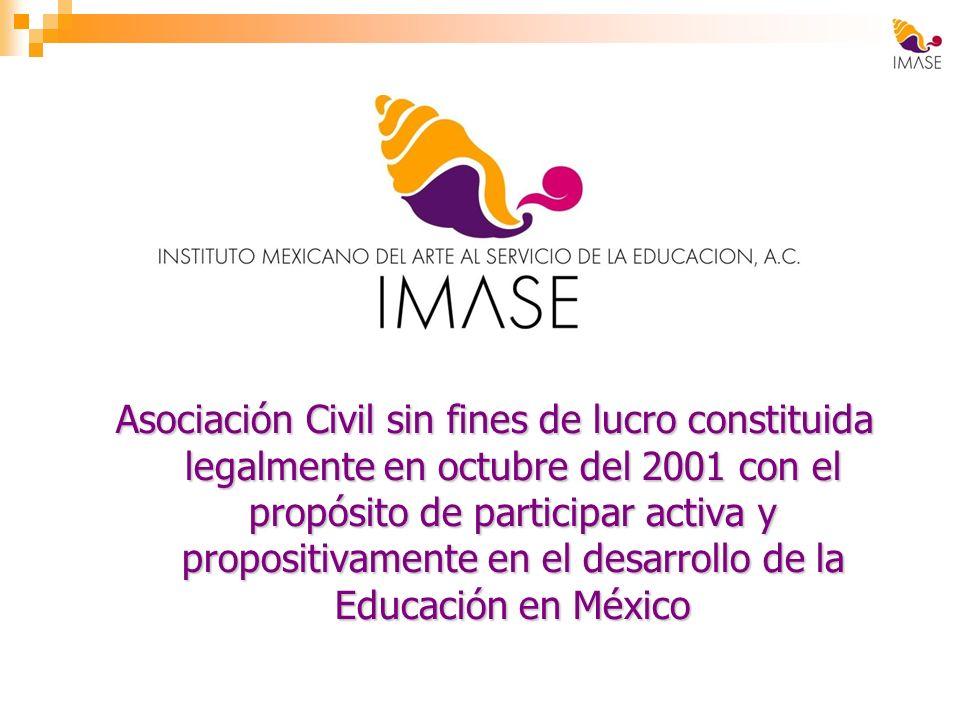 Asociación Civil sin fines de lucro constituida legalmente en octubre del 2001 con el propósito de participar activa y propositivamente en el desarrol