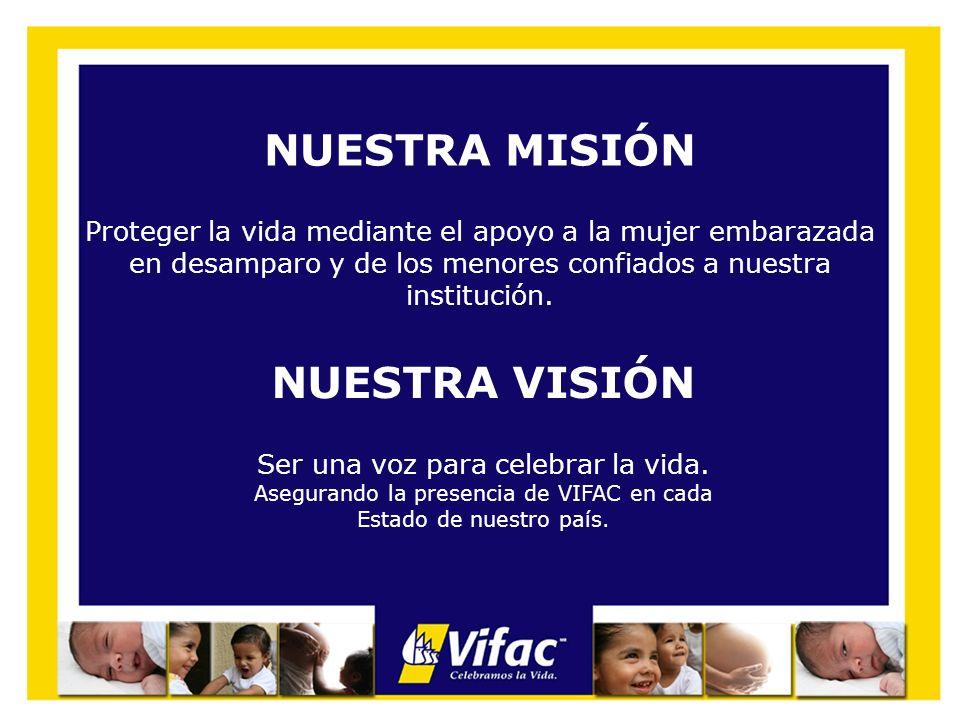 NUESTRAS METAS 2009 Incrementar en un 10% la atención a mujeres y bebés confiados a nuestra institución.