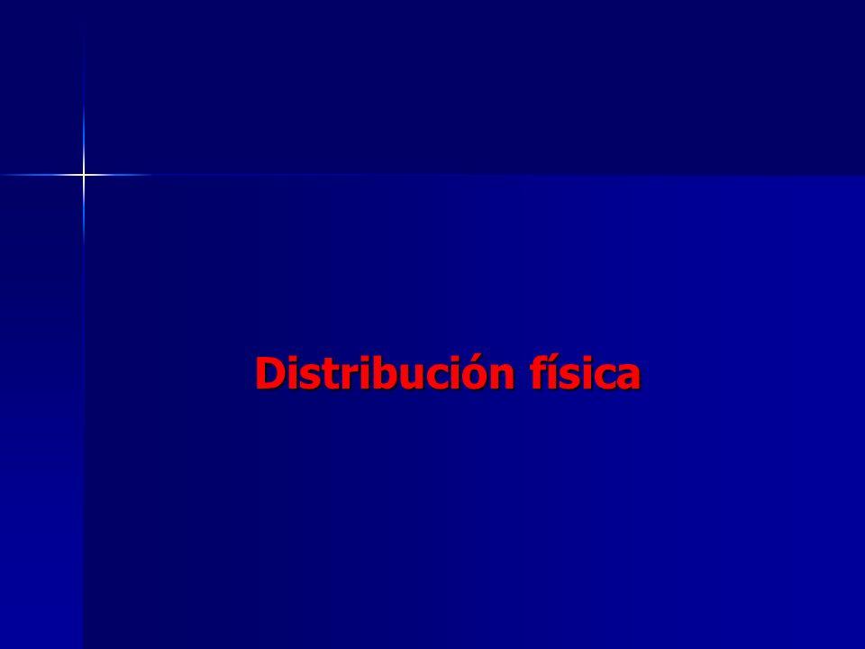 Distribución física Distribución física