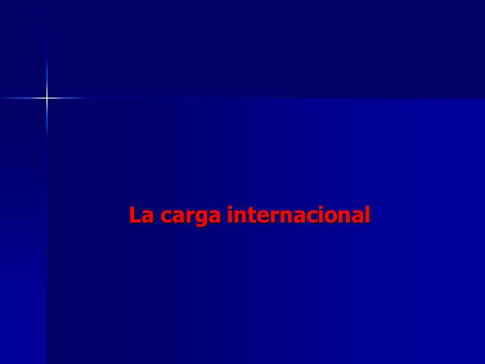 La carga internacional La carga internacional