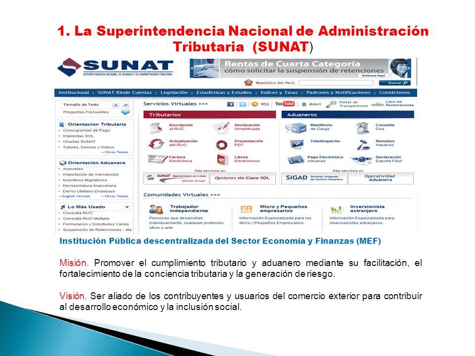 Institución Pública descentralizada del Sector Economía y Finanzas (MEF) Misión.
