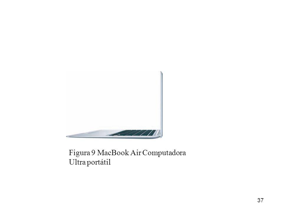 37 Figura 9 MacBook Air Computadora Ultra portátil