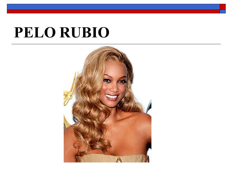PELO RUBIO