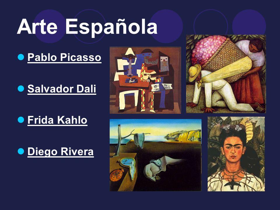 Arte Española Pablo Picasso Salvador Dali Frida Kahlo Diego Rivera