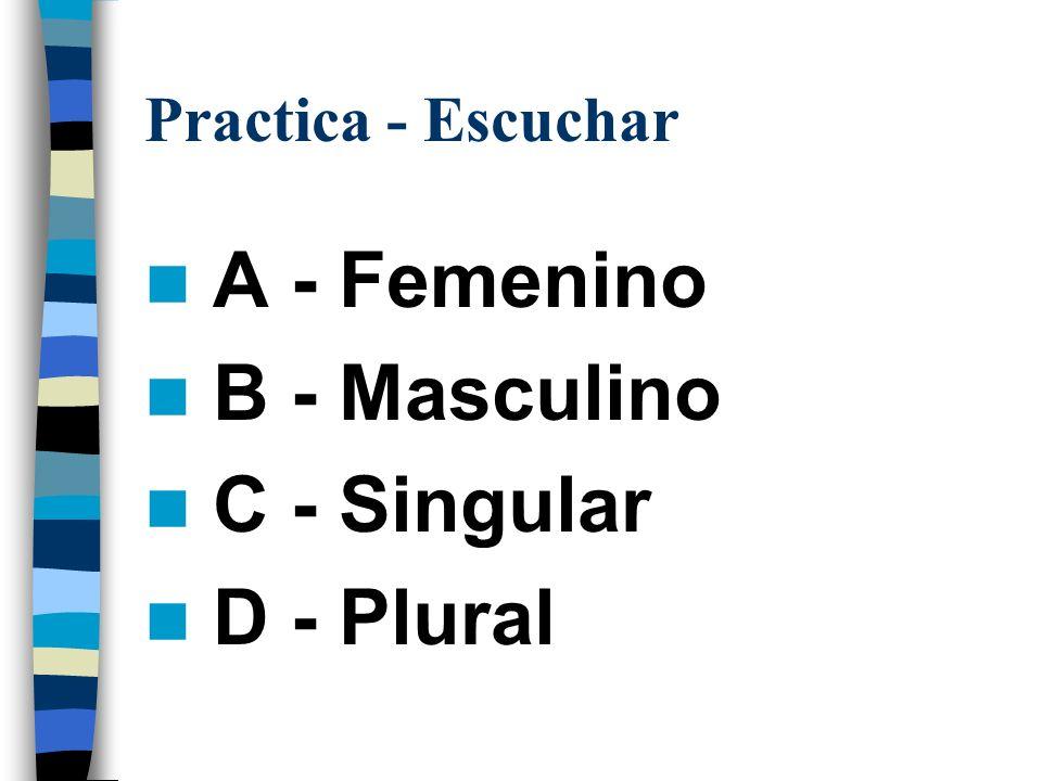 Practica - Articulos Definidos Singular Definite Article Singular Noun Plural Definite Article Plural Noun LaPizarraLasPizarras Escritorio Silla Mapa