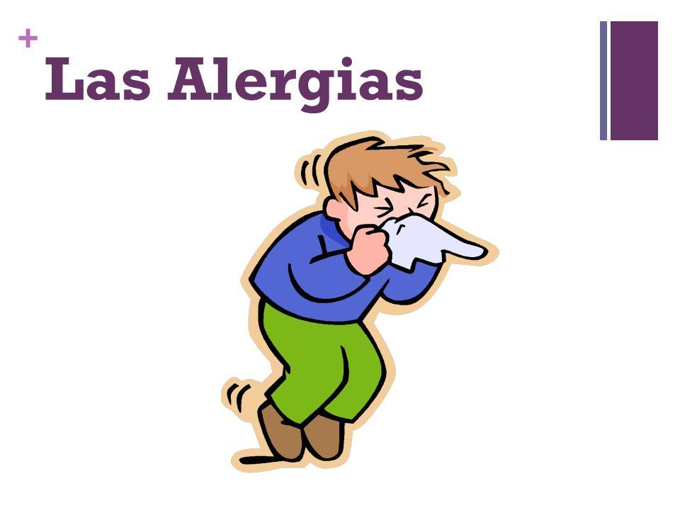 + Las Alergias