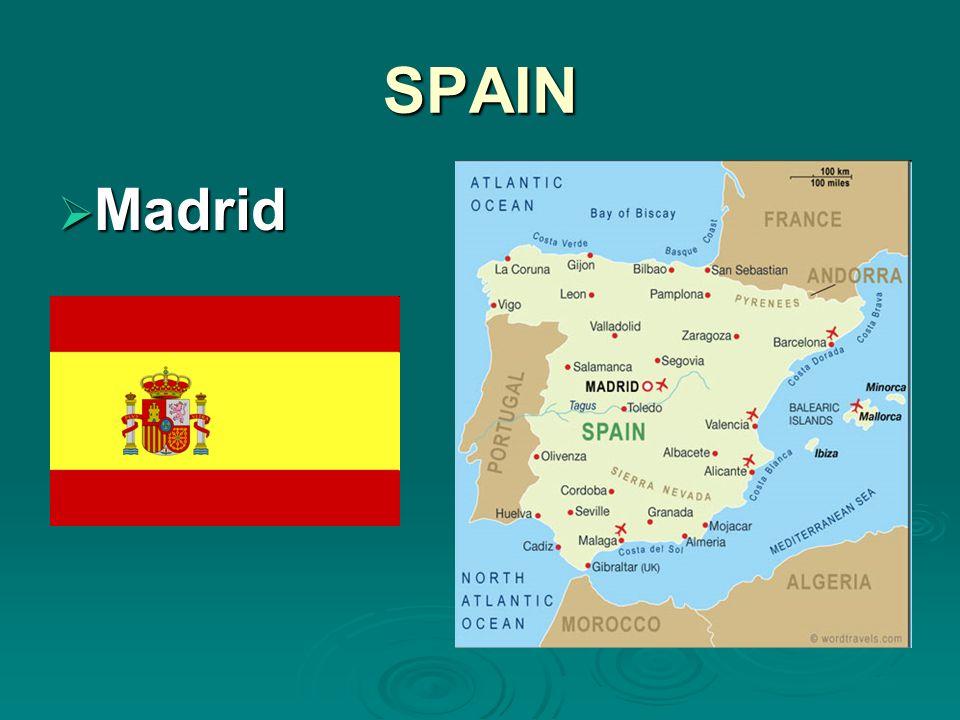 SPAIN Madrid Madrid