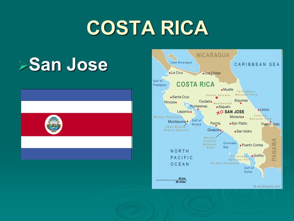 COSTA RICA San Jose San Jose