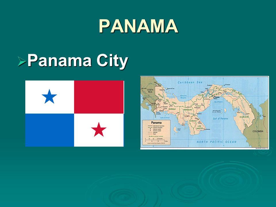 PANAMA Panama City Panama City