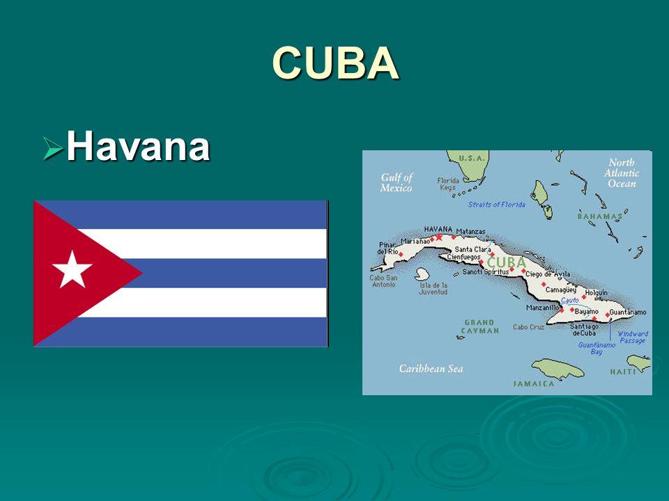 CUBA Havana Havana