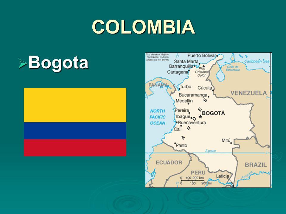 COLOMBIA Bogota Bogota