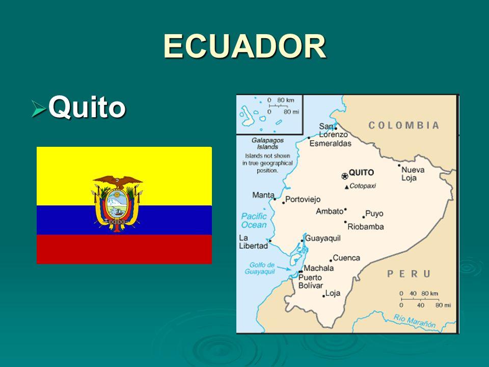 ECUADOR Quito Quito