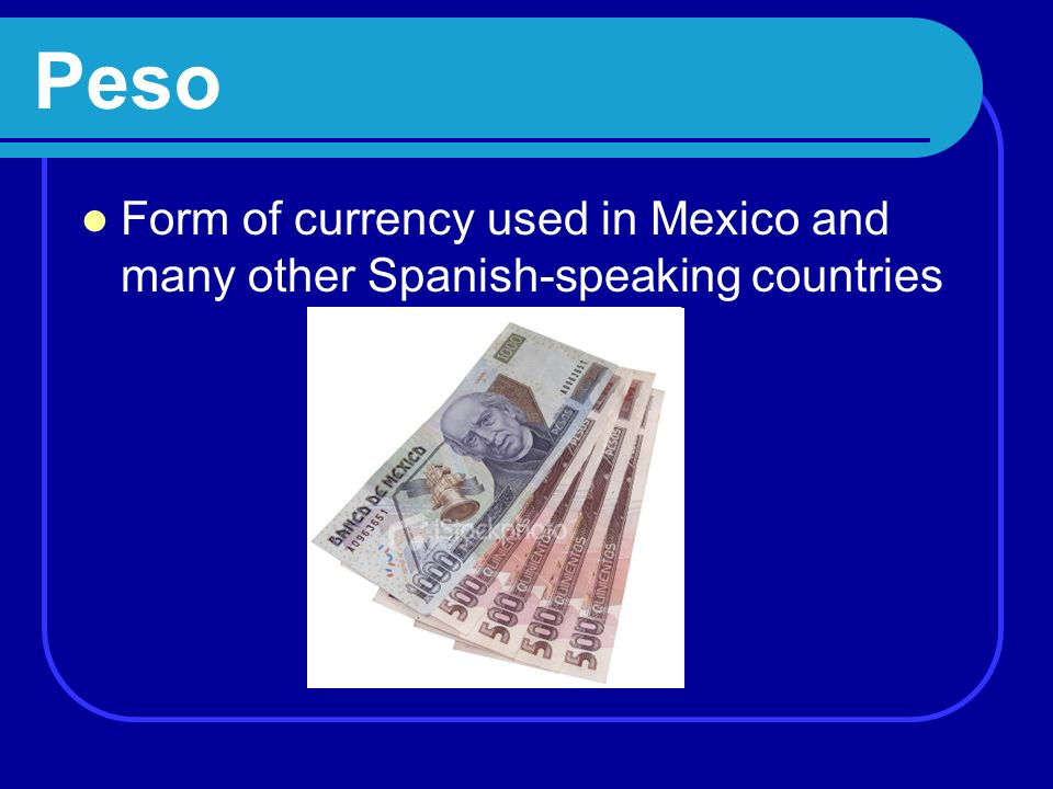 Exchange Rate How much one currency is worth in terms of another currency