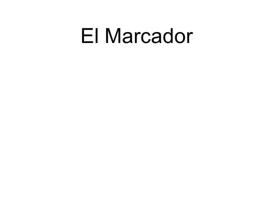 El Marcador