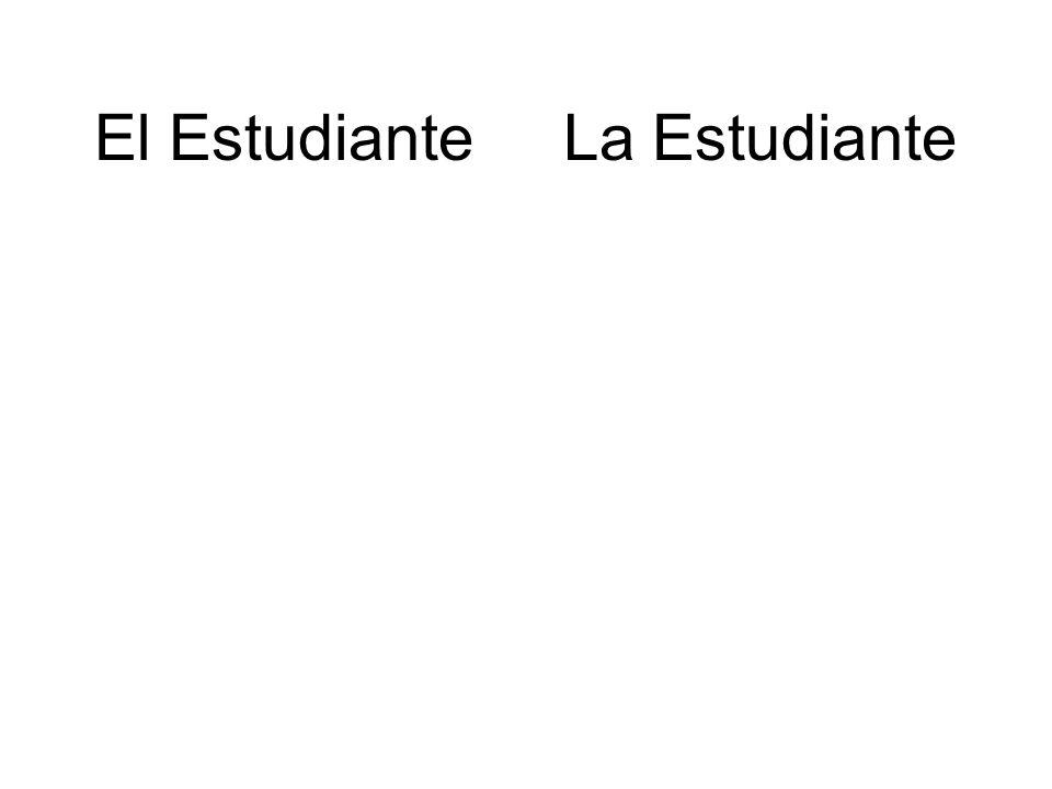 El Estudiante La Estudiante