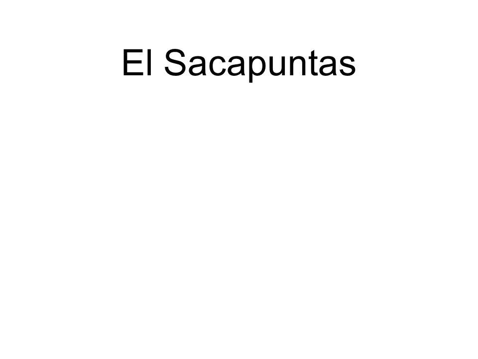 El Sacapuntas