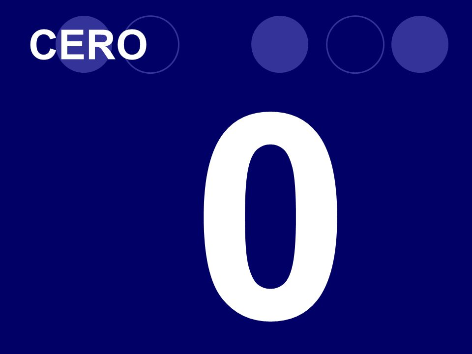 CERO 0