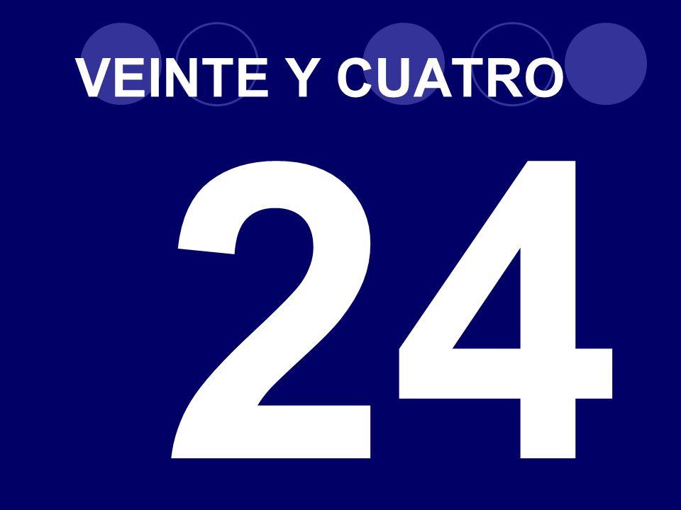 VEINTE Y CUATRO 24