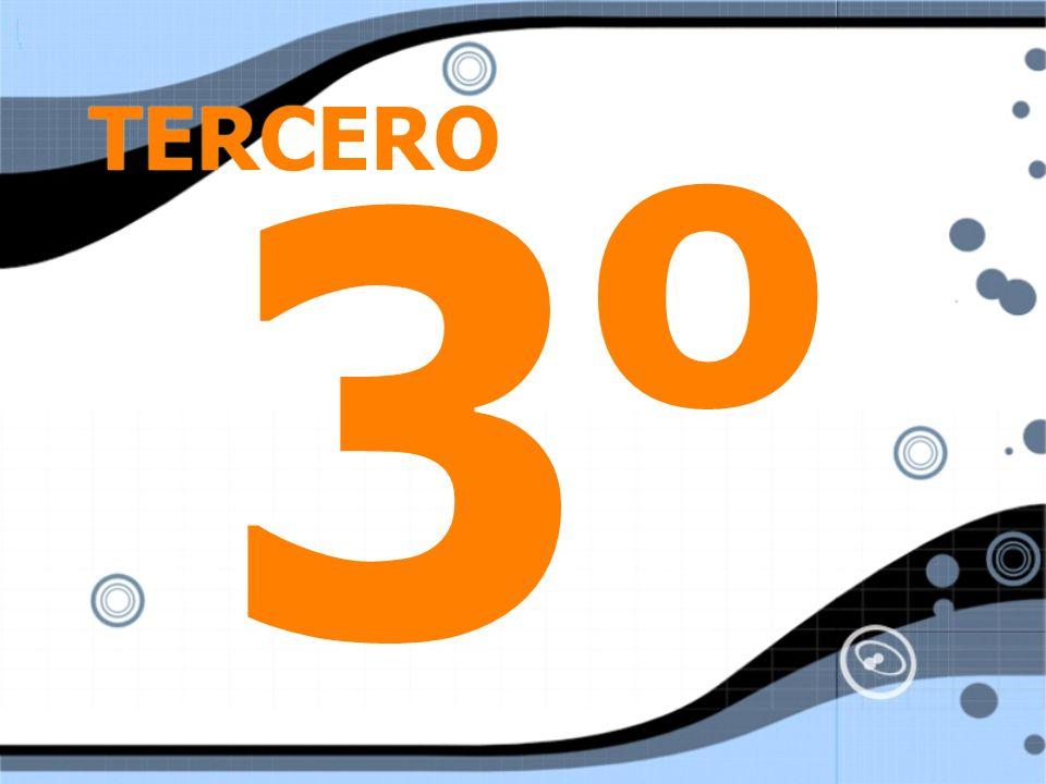 TERCERO 3o3o 3o3o
