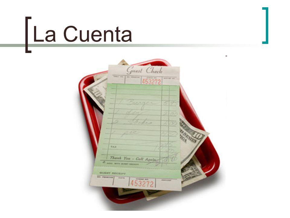 La Cuenta