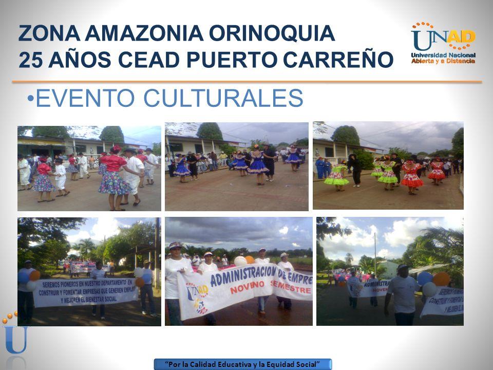 Por la Calidad Educativa y la Equidad Social ZONA: AMAZONIA ORINOQUIA DIRECTORES DEL CEAD 1990 – 1992 Lic. Víctor Hugo Martínez Herrera 1993 – 1994 Li