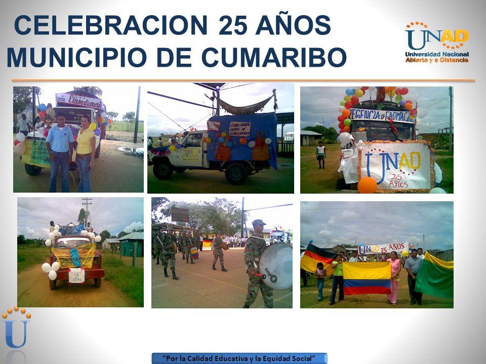 Por la Calidad Educativa y la Equidad Social ZONA AMAZONIA ORINOQUIA 25 AÑOS CEAD PUERTO CARREÑO EVENTO CULTURALES
