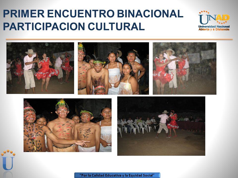 Por la Calidad Educativa y la Equidad Social CELEBRACION 25 AÑOS MUNICIPIO DE CUMARIBO