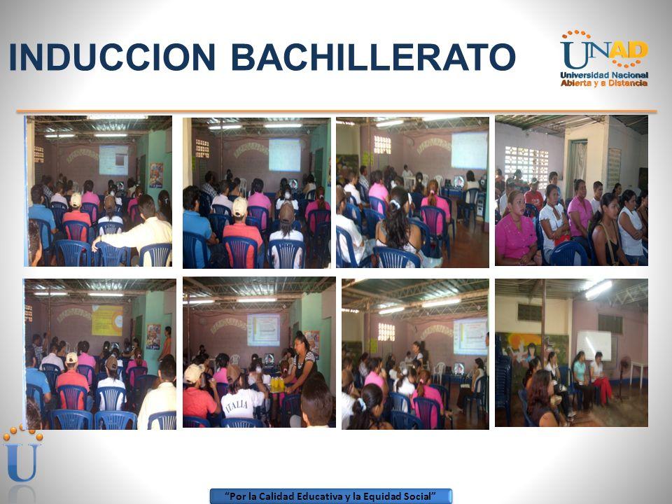 Por la Calidad Educativa y la Equidad Social ENCUENTRO DE INDUCCION A ESTUDIANTES.