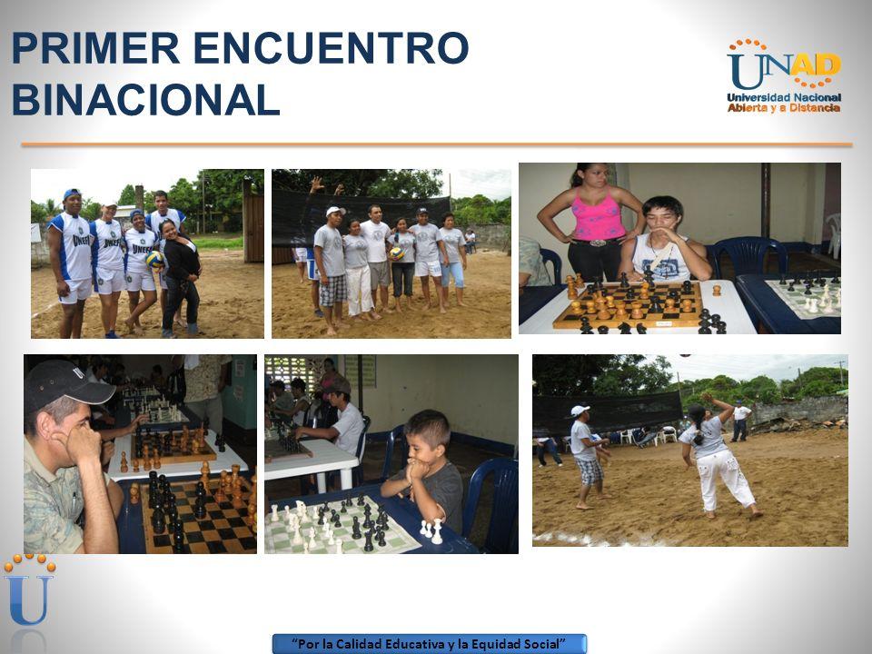 Por la Calidad Educativa y la Equidad Social ZONA AMAZONIA ORINOQUIA SEMANA UNADISTA 2009-1 EVENTOS DEPORTIVOS