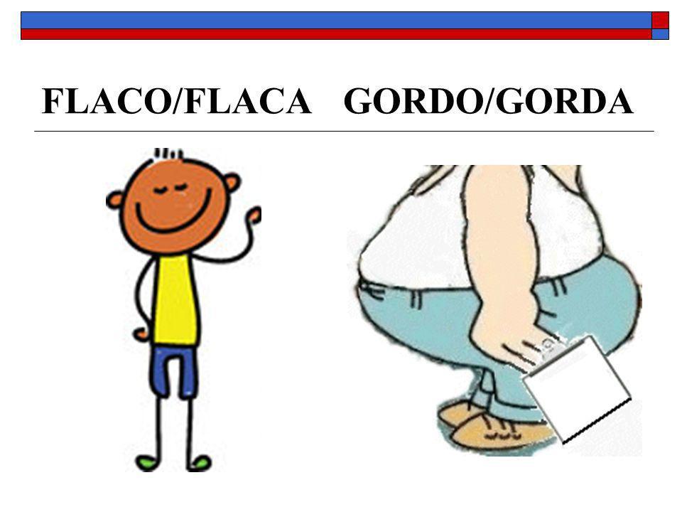 FLACO/FLACA GORDO/GORDA