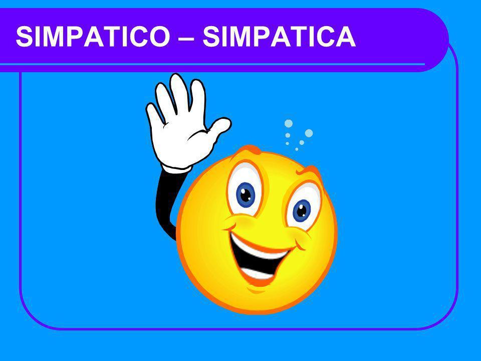 SIMPATICO – SIMPATICA