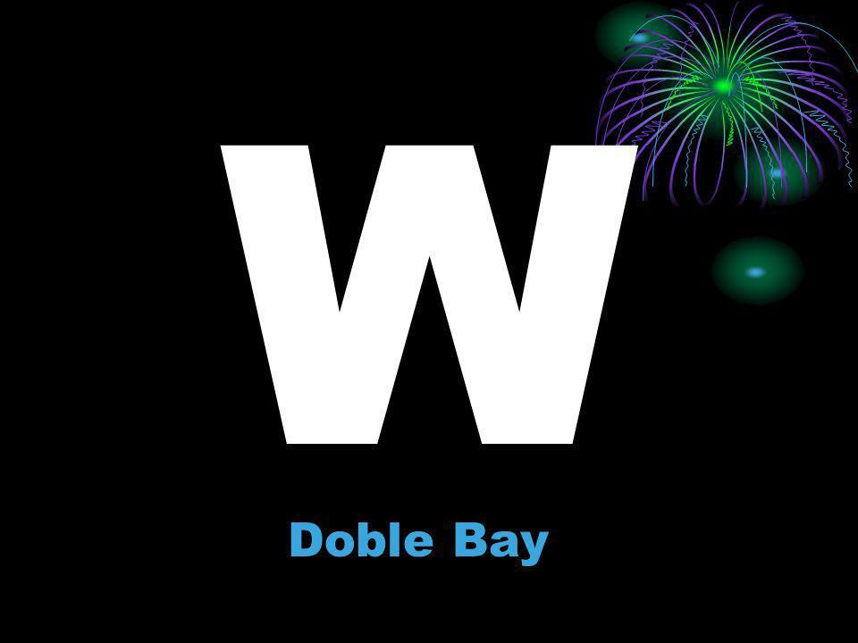 W Doble Bay