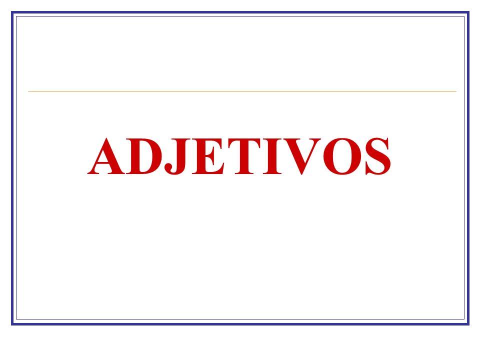 ADJETIVOS