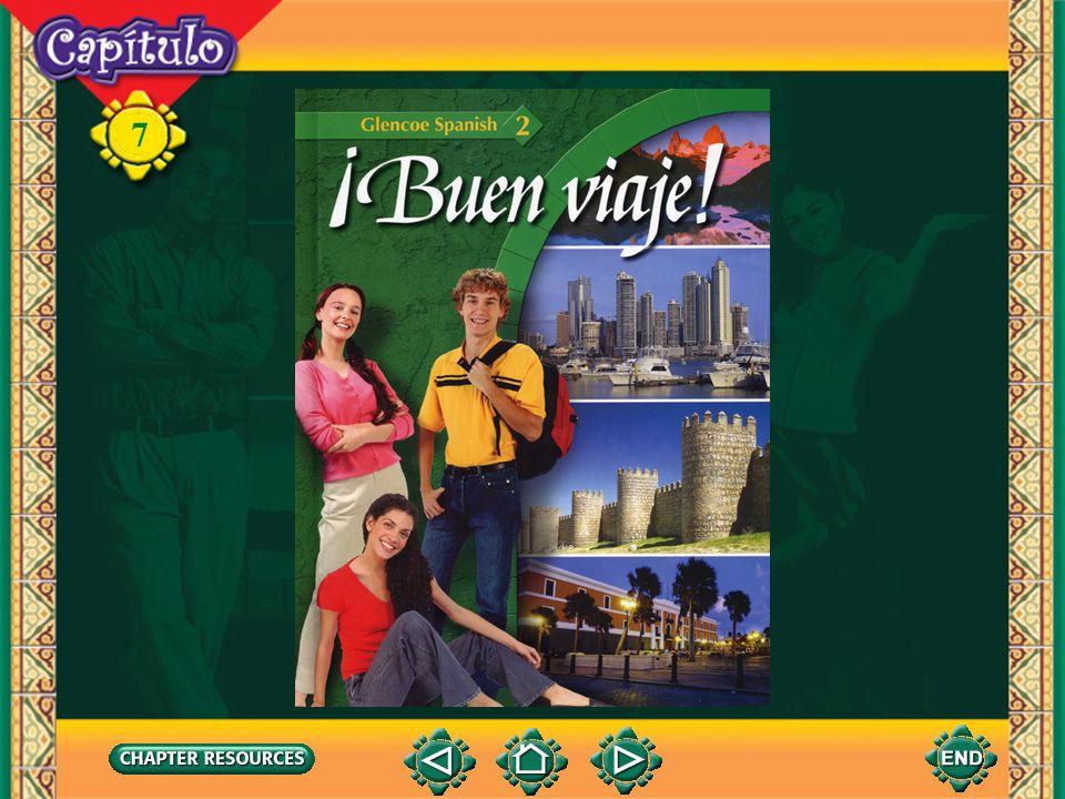 7 la mesetaplateau Talking about geography Vocabulario El vuelo la llanuraplain el vallevalley el ríoriver el lagolake (English-Spanish)
