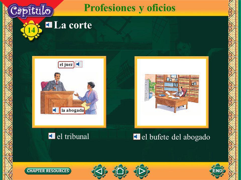 14 el alcalde el funcionario El gobierno municipal Profesiones y oficios la alcaldía