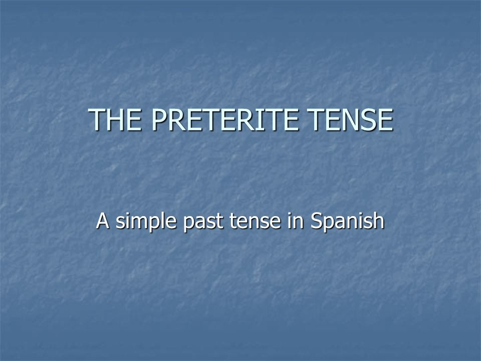 IR verbs that change their stem in the present tense do change in the preterite, but in a different way.