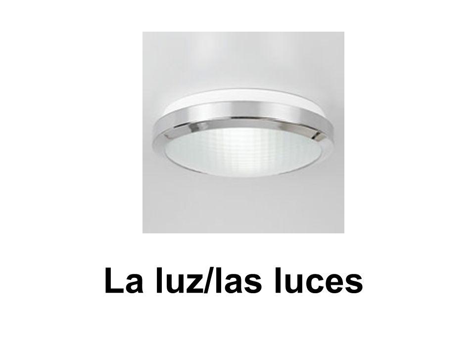 La luz/las luces