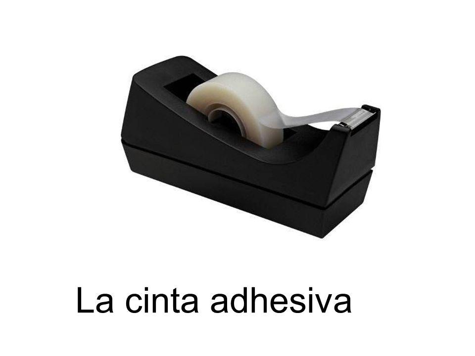 La cinta adhesiva
