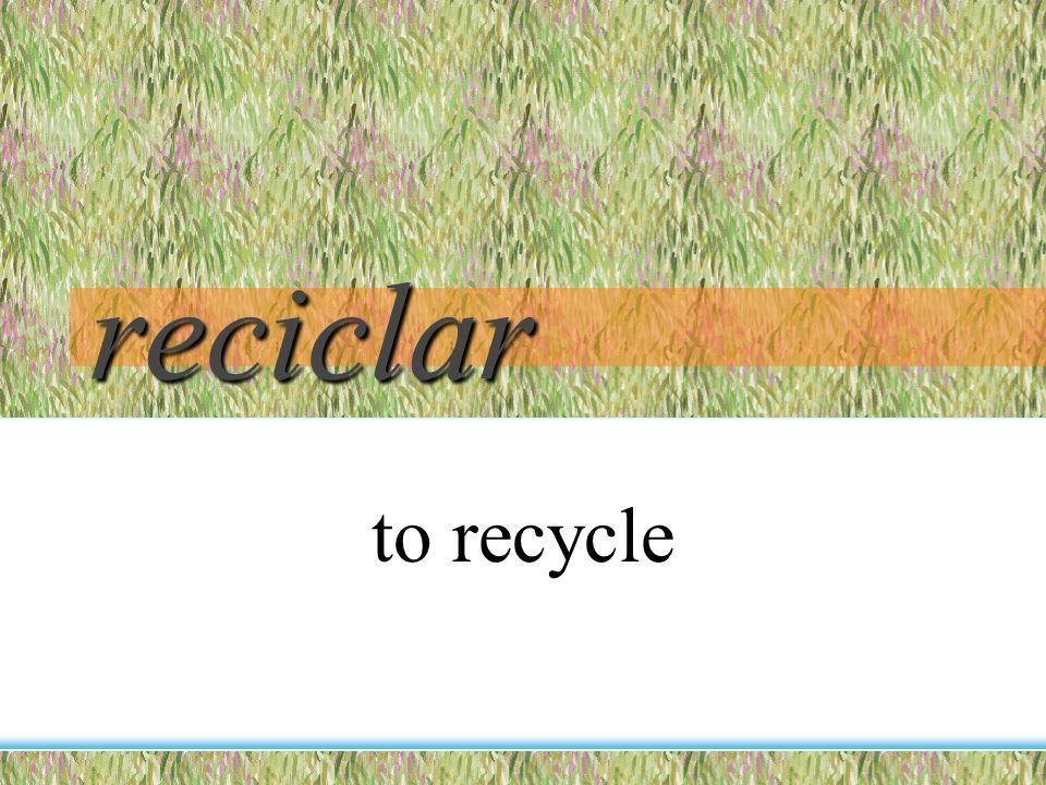 el plástico plastic