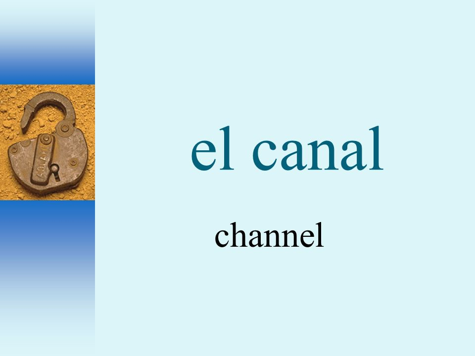 el canal channel