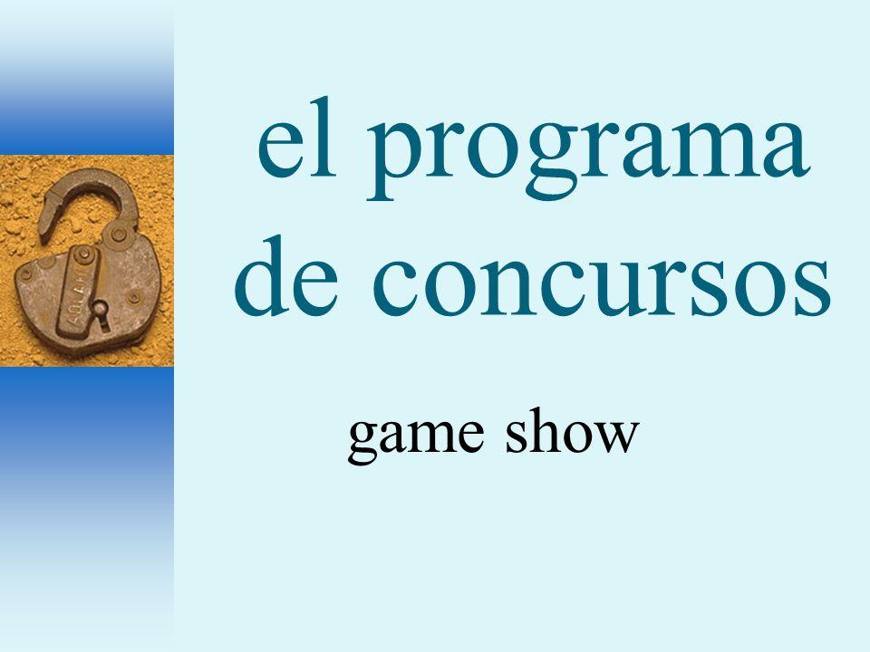 el programa de concursos game show