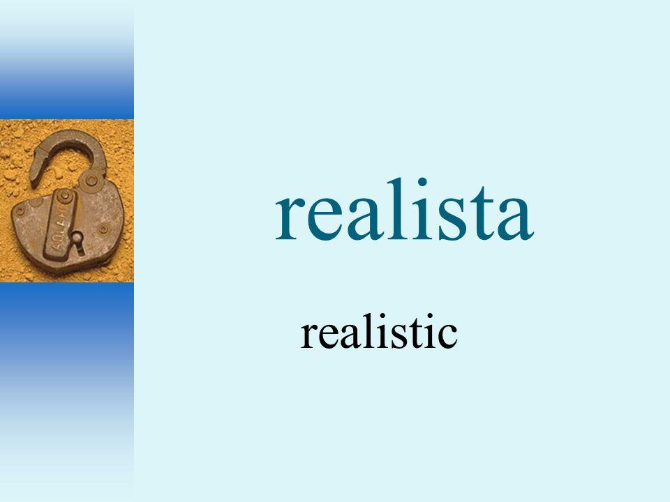 realista realistic
