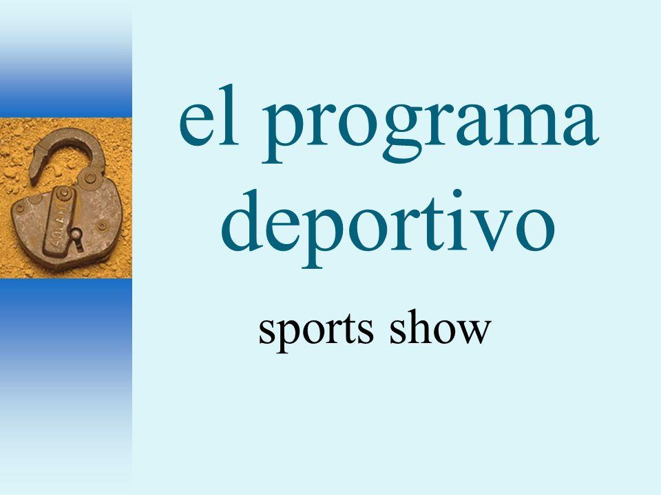 el programa deportivo sports show
