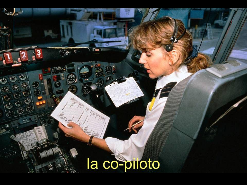 la co-piloto